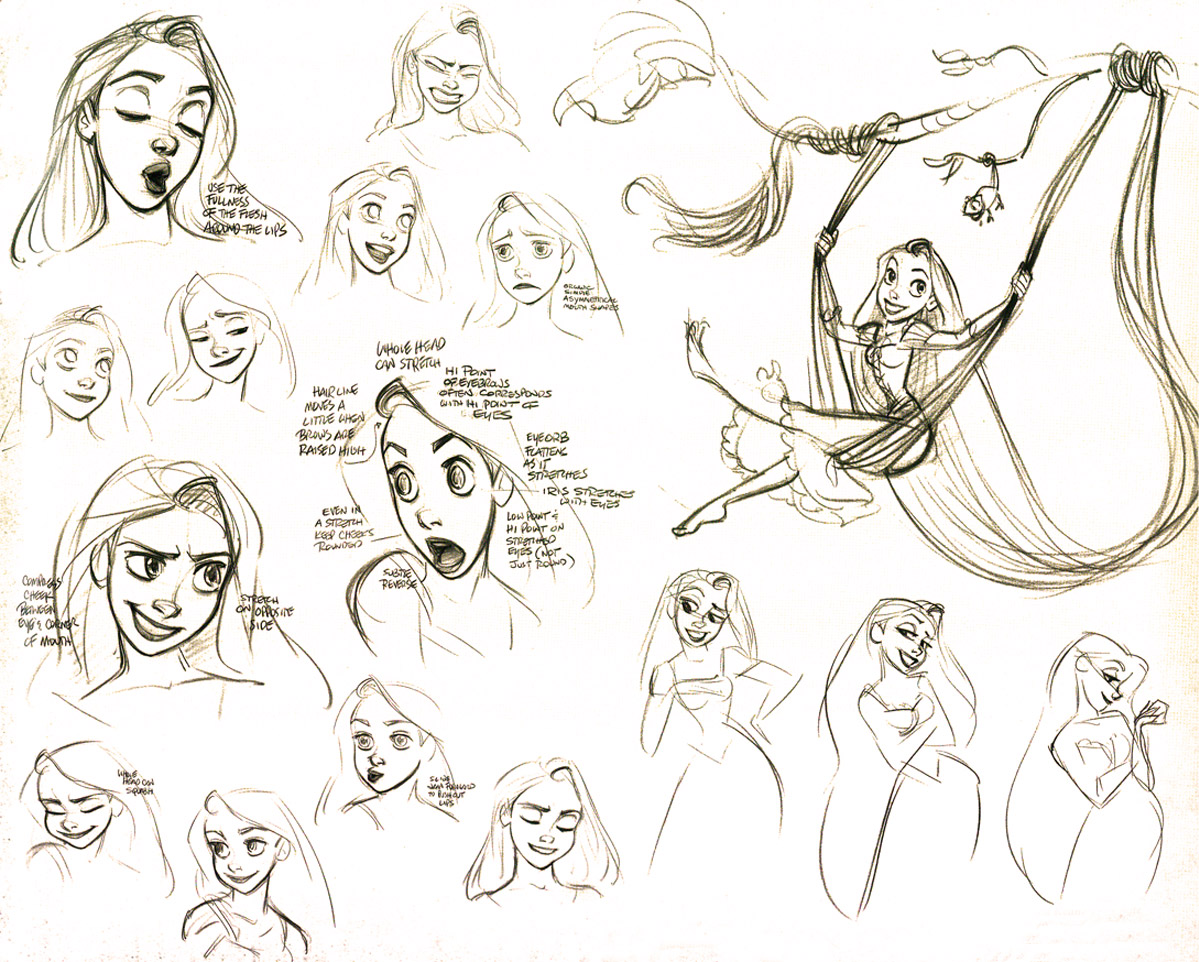Disney Character Design Artists : Jorge s playground glen keane