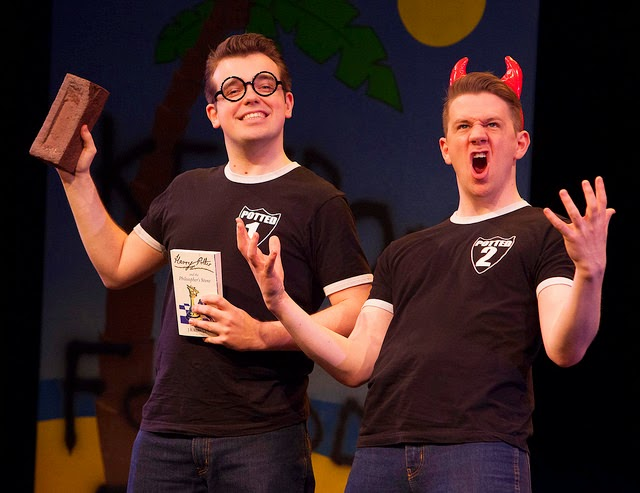 Benjamin Stratton & James Percy in Potted Potter