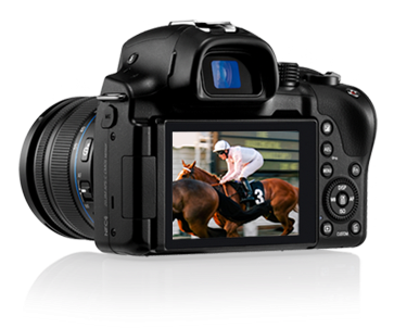 Samsung NX30, super amoled, NFC, Wi-Fi, Full HD video, i-function, share photo, Android, iOS, Photo Beam, smartphone, tablet