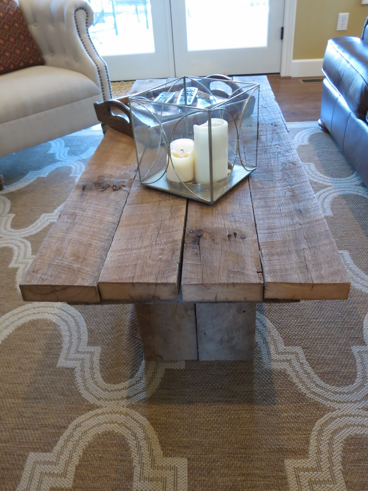 Let s Just Build a House Tale of 2 tables a golden deal & a DIY