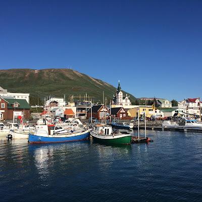 Husavik, Iceland harbor