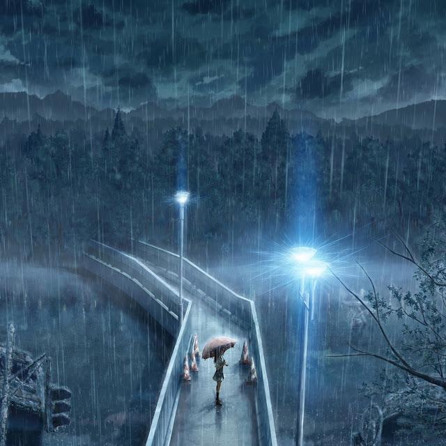 download rainy ipad wallpaper 06