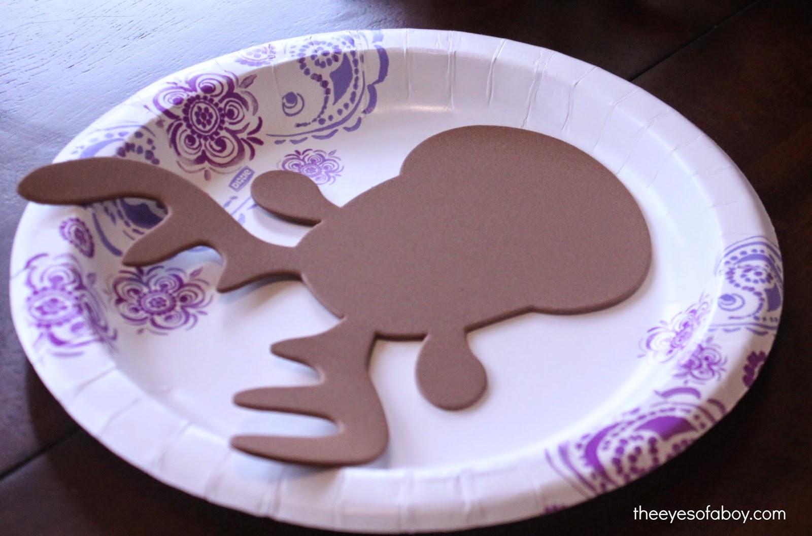 easy u0026 fun kid made diy reindeer christmas ornament the eyes of