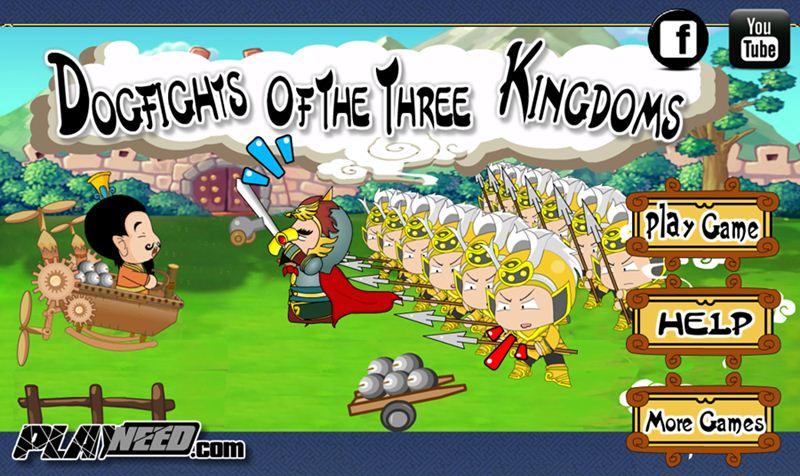 """""""เกมหลิวเป้ยจ้าวเวหา"""" หรือเกม """"Dogfights Of The Three Kingdoms"""""""