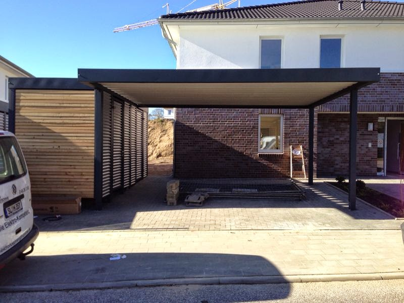 stahlcarport metallcarport referenz 40 metallcarport. Black Bedroom Furniture Sets. Home Design Ideas