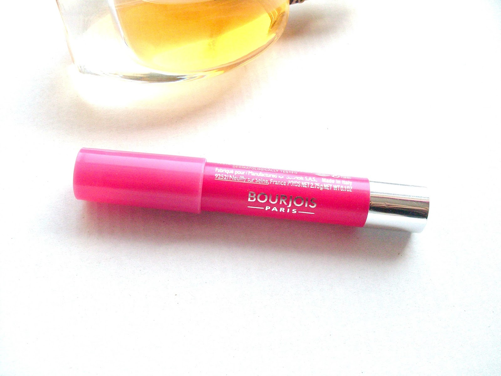 Bourjois Colour Boost lip crayon in fuschia libra