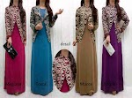 Maxi Spandex + Blazer Songket SOLD OUT
