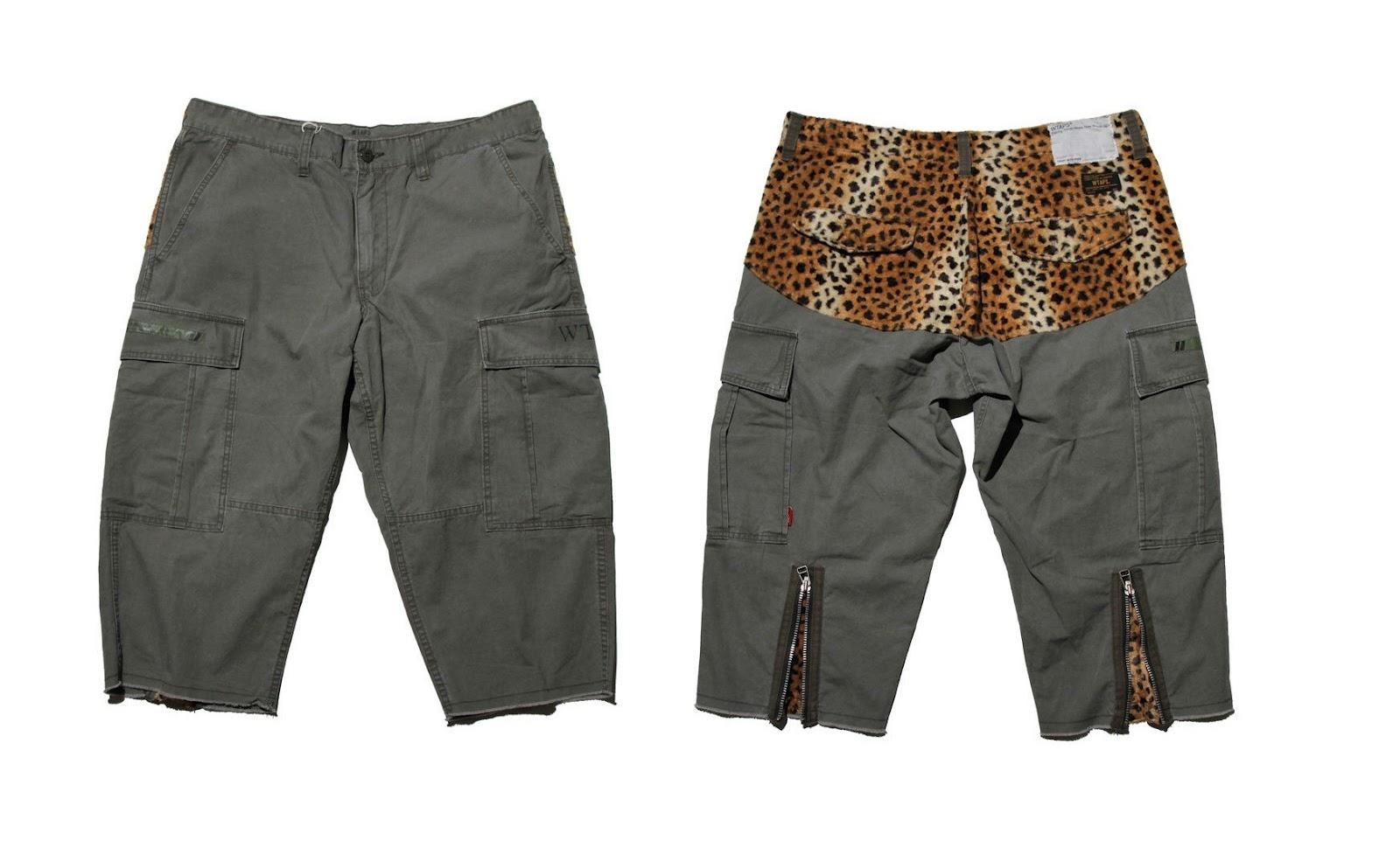 Wtaps Leopard Print Shorts