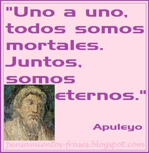 frases de Apuleyo