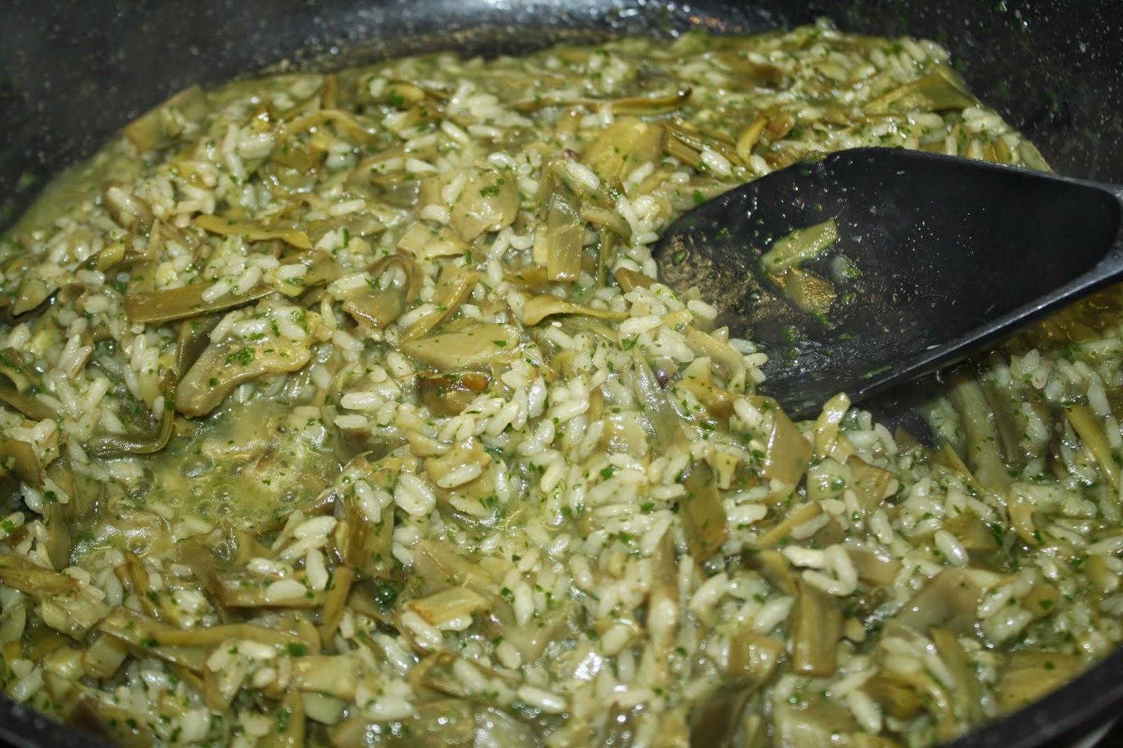 ricette carciofi risotto