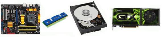 Los componentes con más fallos en 2012