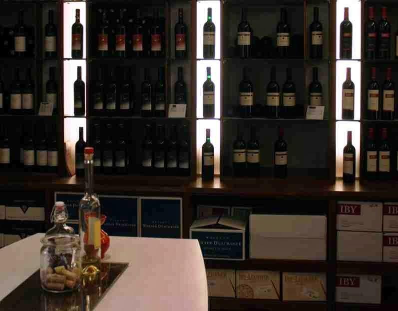 Eine Weinverkostung mit Gefühl gibt's in der Vinothek in Horitschon © Copyright Monika Fuchs, TravelWorldOnline