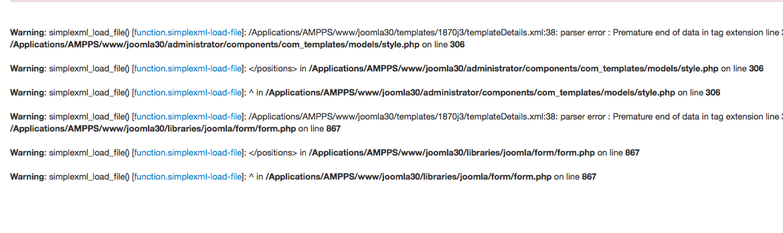 Comment résoudre l'erreur simplexml_load_file() de Joomla 3, A Unix Mind In A Windows World