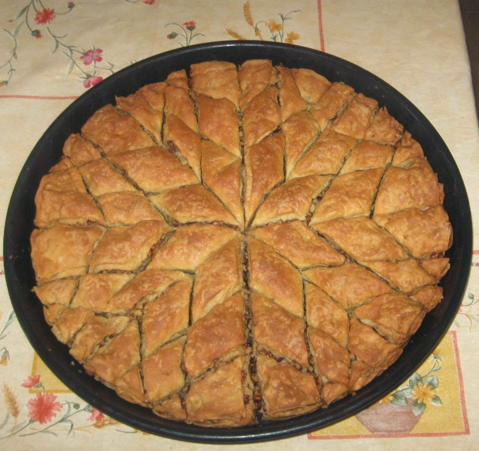 KuzhinaIme.al: Bakllava turke (Receta e derguar nga Dallandyshe Siqeca ...