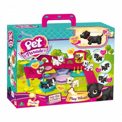 TOYS : JUGUETES - PET PARADE Playset con cachorro | Play World Producto Oficial 2015 | Giochi Preziosi | A partir de 4 años Comprar en Amazon España