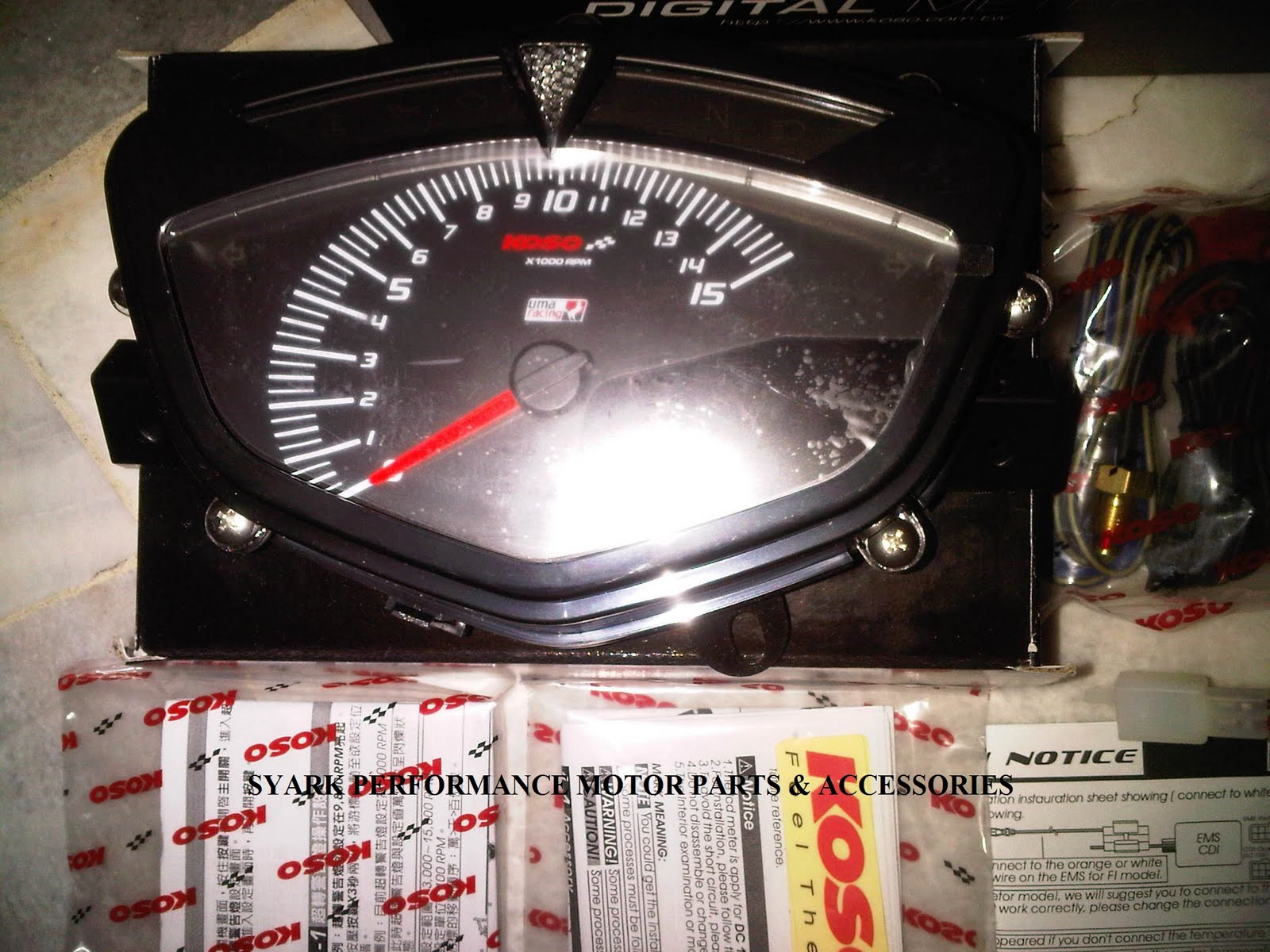 Digital Speedometer for Sniper 135 MX Modified