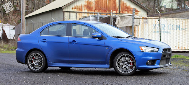 2015 Mitsubishi Lancer Evolution MR - angle