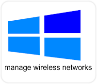 Manage Wireless Networks Windows 8