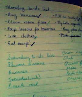 A peek at my to-do list. You're welcome!