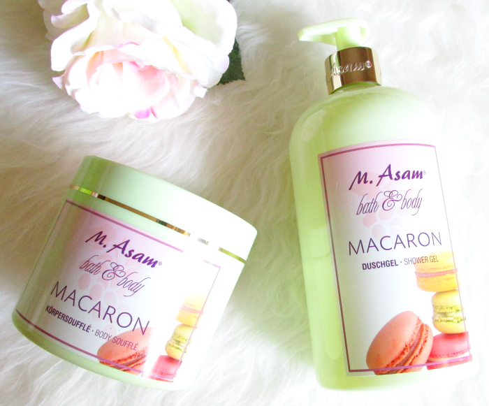 Review: M.Asam - Macaron Shower Gel & Body Soufflé , Inhaltsstoffe