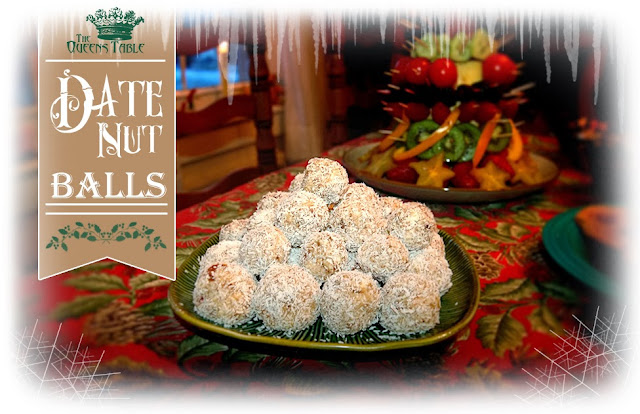 The queen s table date nut balls easy treats for last