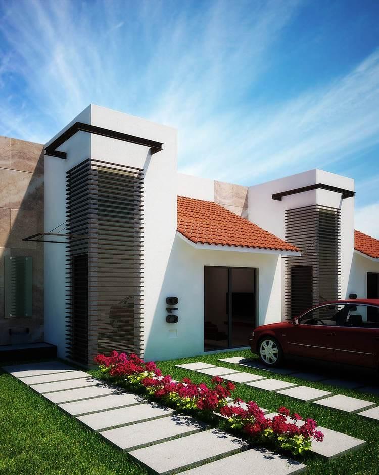 Fachadas mexicanas y estilo mexicano fachada mexicana for Estilos de casas contemporaneas