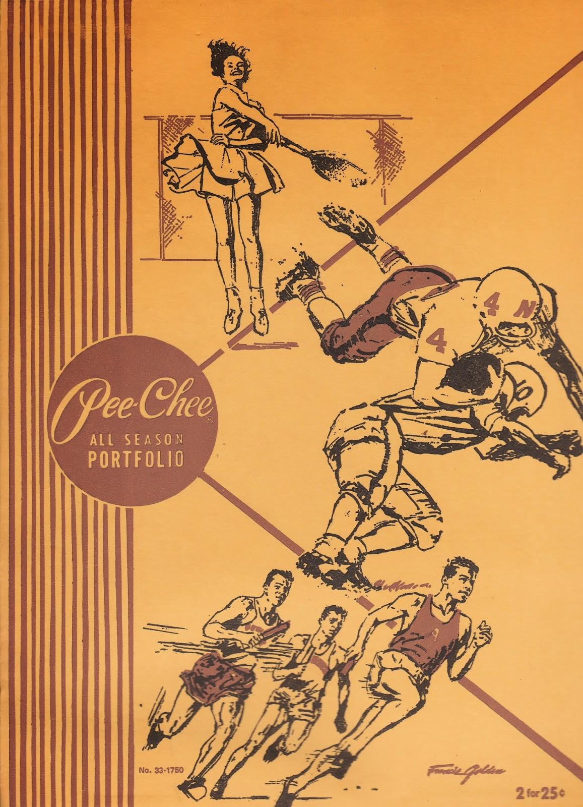 1943 pee chee Portfolio