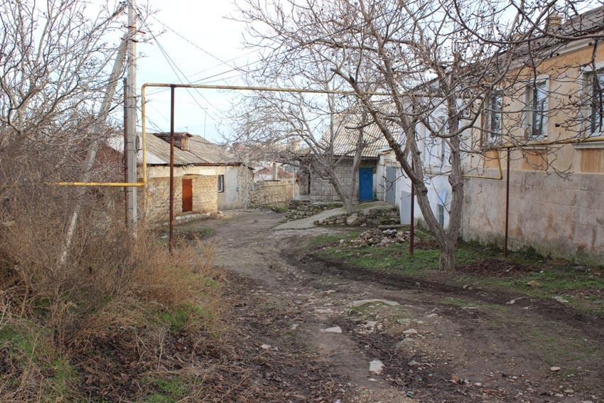 Улица Нагорная в Феодосии