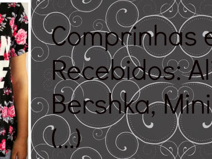 Comprinhas e Recebidos: Aliexpress, Bershka, Mininthebox (...) ♡