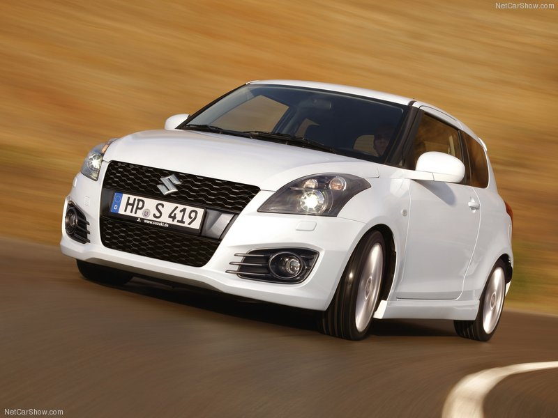 Wallpaper 2012 Suzuki Swift Sport