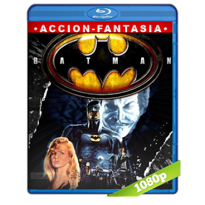 Batman (1989) BRRip Full 1080p Audio Trial Latino-Castellano-Ingles 5.1