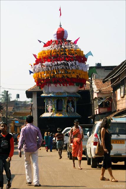 Temple car, Car Street, Gokarna