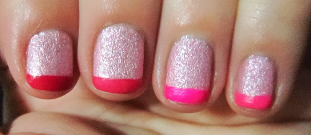 Glam Fiend: Pussy Galores Pink Ombre Tips