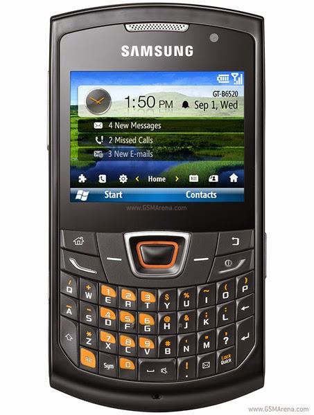 Samsung  B6520L Omnia Pro 5 Flash Files