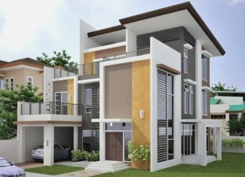 Memilih Kombinasi Warna Dinding Luar Rumah Rancangan Memilih Kombinasi Warna Dinding Luar Rumah