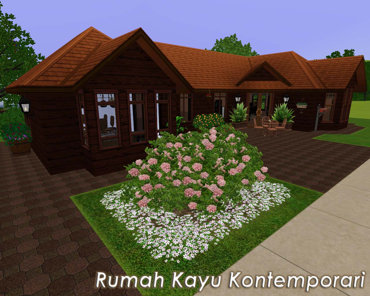 mahligai impianku rumah kayu idaman