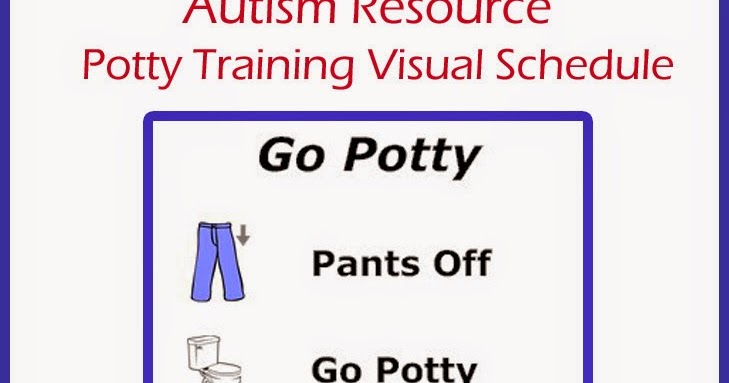 She S Always Write Autism Resource Potty Training Visual