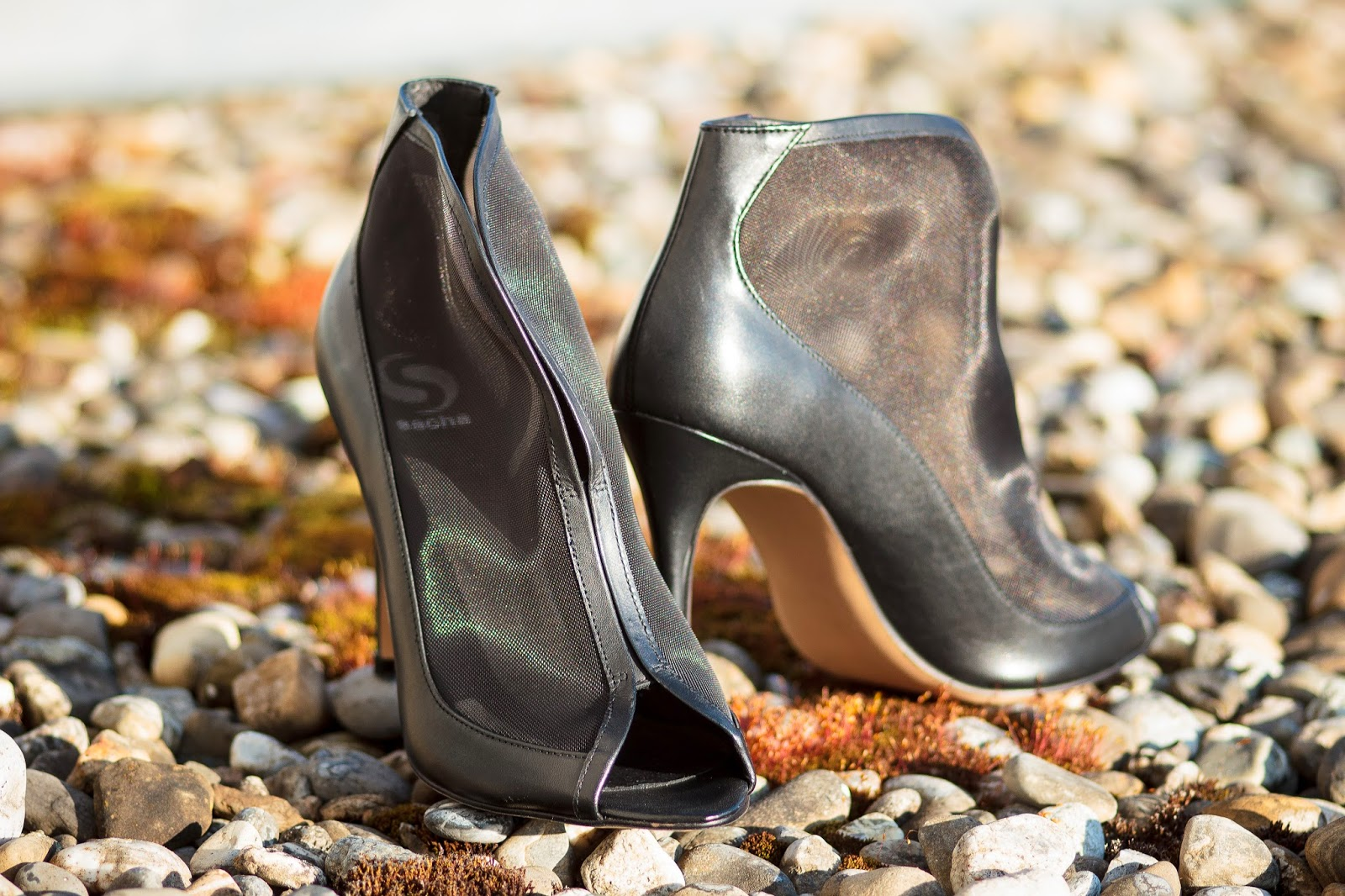 SHOES: MODE JUNKIE MESH BOOTS BY SACHA PRIZMAHFASHION