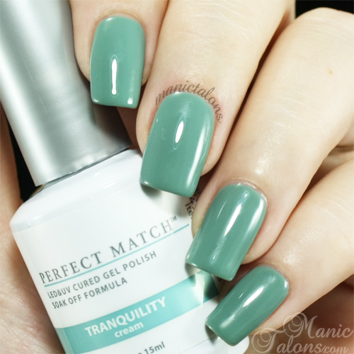 LeChat Perfect Match Gel Polish Tranquility Swatch