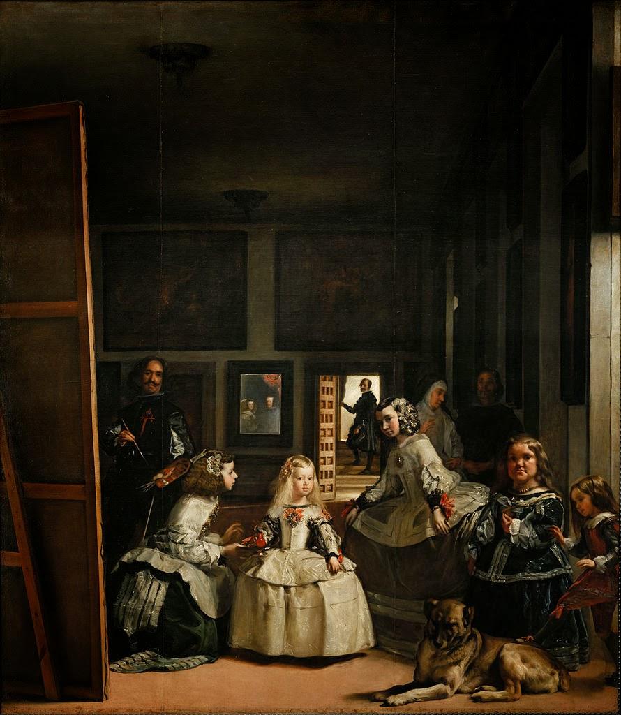 La familia de Felipe IV (o Las meninas, 1656)