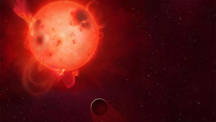 Kepler-438b no puede albergar vida.