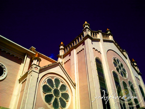 Elements and Designs of the sides of Baguio Cathedral