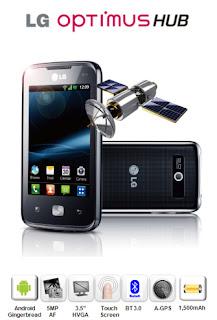 Harga dan Spesifikasi LG Optimus Hub E510