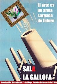 """Sala de arte digital La Gallofa: """"Ya es primavera en Tetuán Oeste"""""""