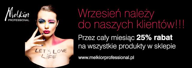Kosmetyki Melkior - ciekawe promocje na wrzesień