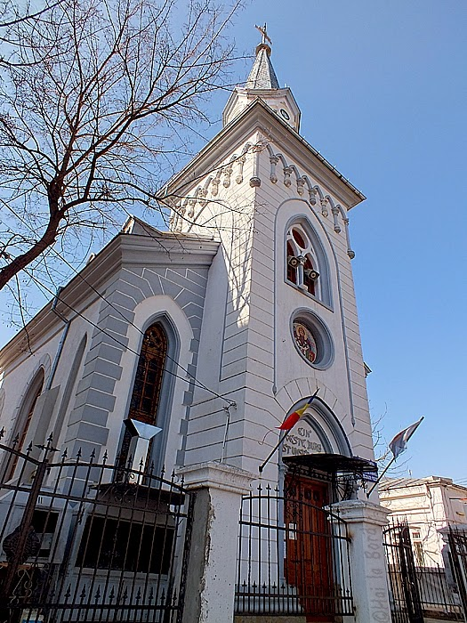 fosta biserica luterana braila