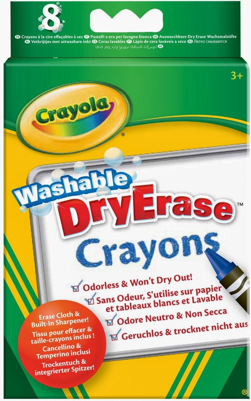 crayola 8ct dry erase crayons large size 950
