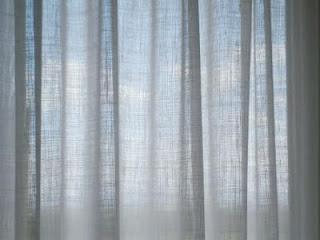 Dec rate la casa visillos de lino a medida for Visillos confeccionados