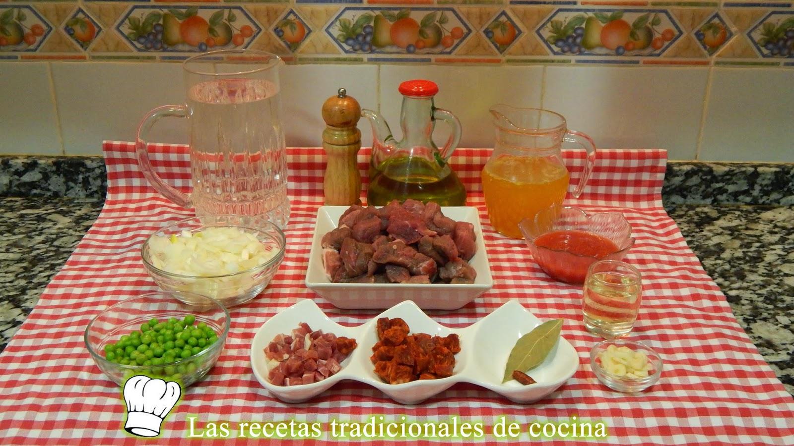 Receta fácil de ternera en salsa o carcamusa Toledana