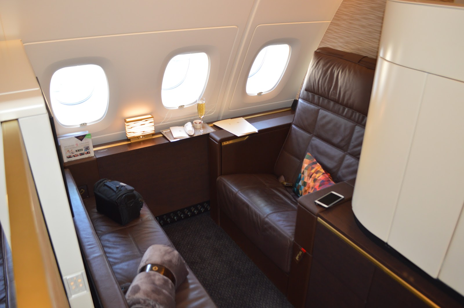 Pic etihad airways a380 first class apartment 4k may 2015 - Apartment 4k